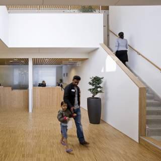 Gezondheidscentrum het noorderdok interieur dp6 for Interieur ontwerp programma