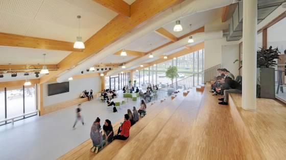 melanchthon business school interieur