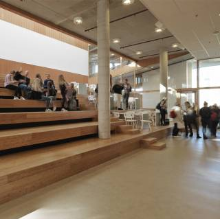 Roc friese poort interieur dp6 architectuurstudio for Interieur ontwerp programma