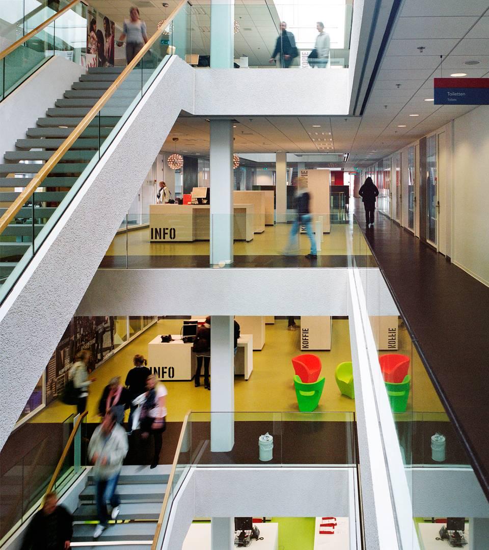 Hogeschool utrecht interieur dp6 architectuurstudio for Interieur amersfoort